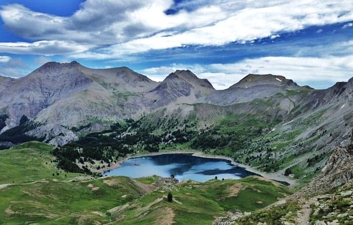 randonnee montagne lac d allos mont pelat