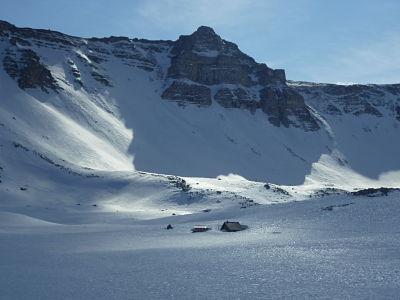 randonnee raquette colmars les alpes